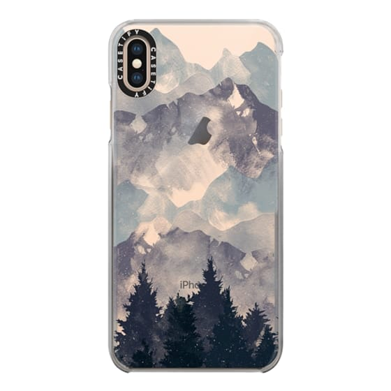 iPhone XS Max Cases - Winter Tale Clear Case