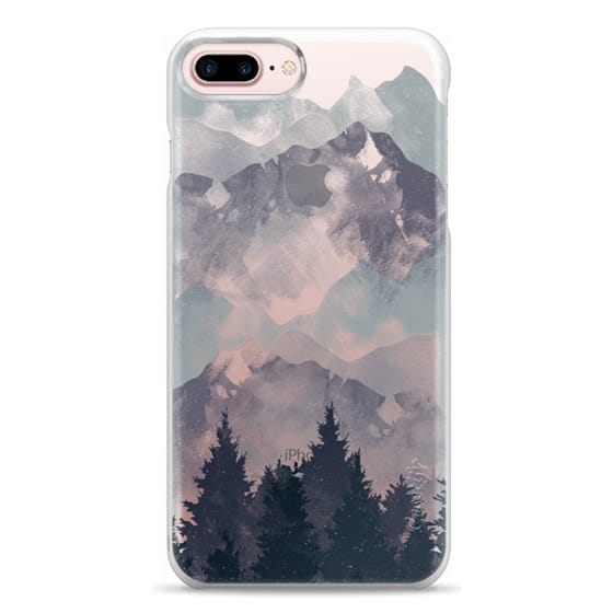 iPhone 7 Plus Cases - Winter Tale Clear Case
