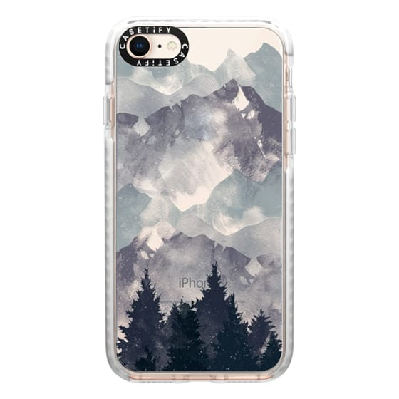 iPhone 8 Cases - Winter Tale Clear Case