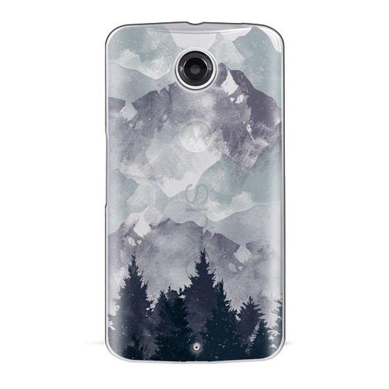 Nexus 6 Cases - Winter Tale Clear Case