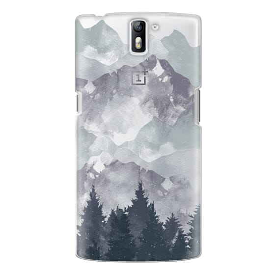 One Plus One Cases - Winter Tale Clear Case