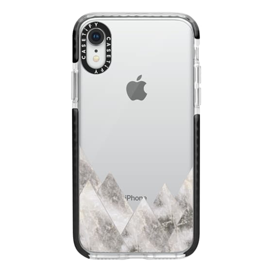 iPhone XR Cases - Marble Mountains