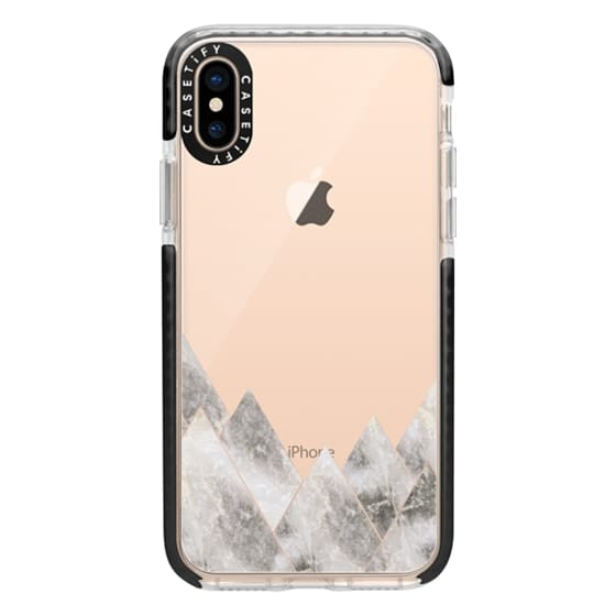 iPhone XS Cases - Marble Mountains