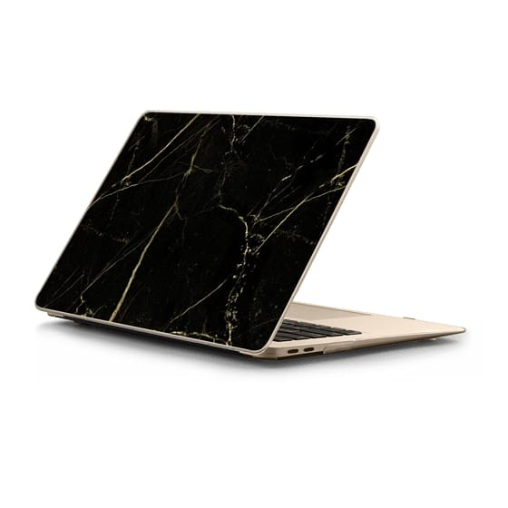 MacBook Air Retina 13 Sleeves - Black Marble with gold