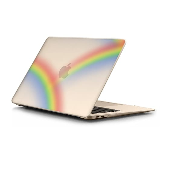 MacBook Air Retina 13 Sleeves - rainbow roads clear case