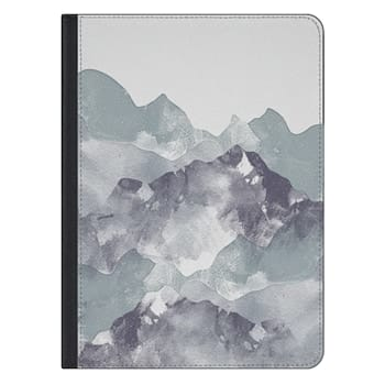 iPad Pro 12.9-inch Case - mountains wanderlust clear case