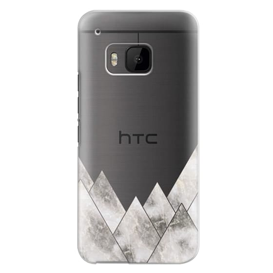 Htc One M9 Cases - Marble Mountains