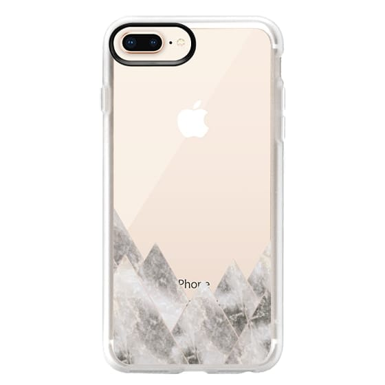 iPhone 8 Plus Cases - Marble Mountains