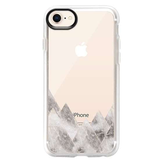 iPhone 8 Cases - Marble Mountains