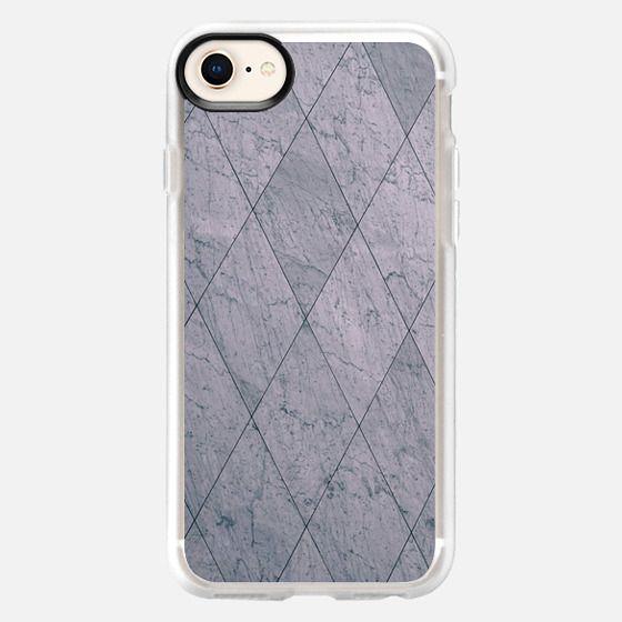 Geometric Marble - Snap Case