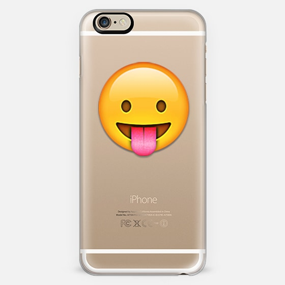 emoji tongue out - Classic Snap Case