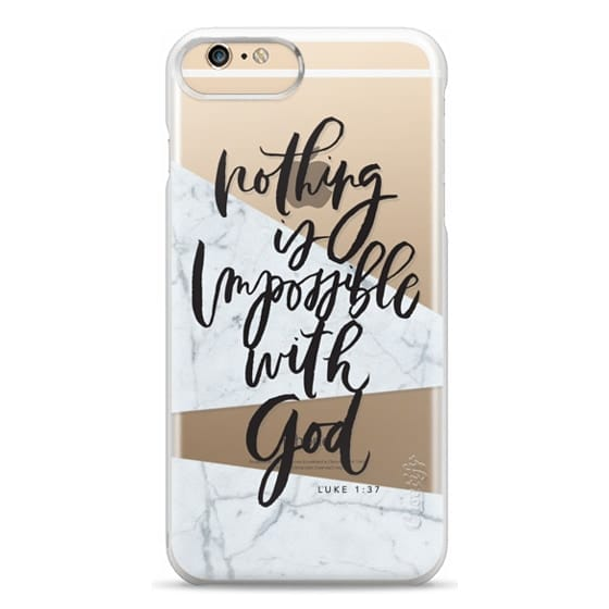 iPhone 6 Plus Cases - Nothing is Impossible with God