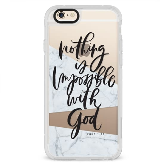 iPhone 4 Cases - Nothing is Impossible with God