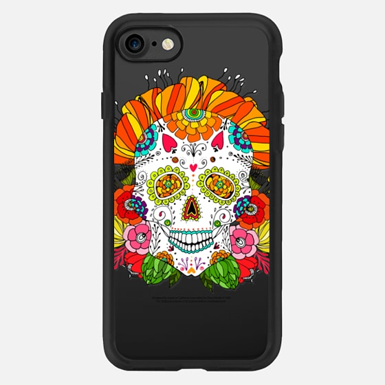 Anchobee Color Flower Skull -