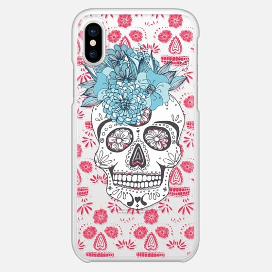 Anchobee_Skull_DayoftheDead - Snap Case