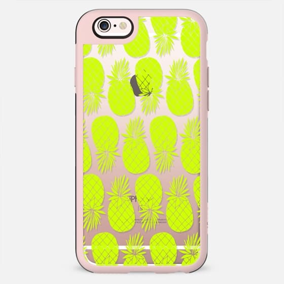 Neon Pineapple - New Standard Case