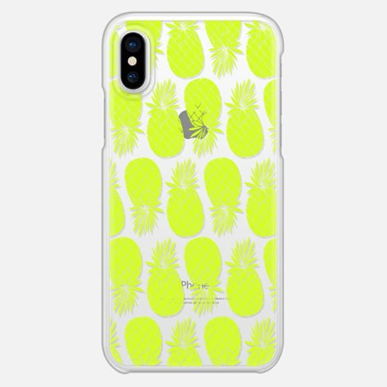Anchobee_Pineapples - Snap Case