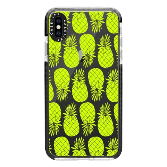 iPhone XS Max Cases - Anchobee_Pineapples