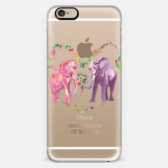 Elephant and Wildflowers -