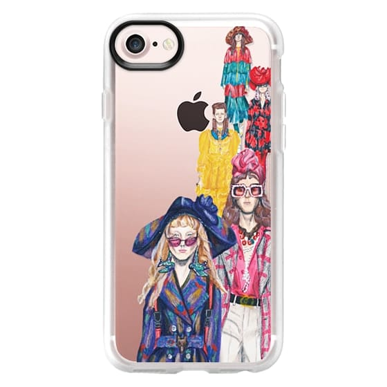 iPhone 7 Plus Cases - Runway Illustration Gucci