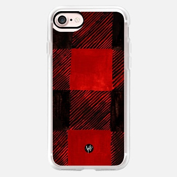 iPhone Case -  Buffalo Plaid Painted Case by Wonder Forest