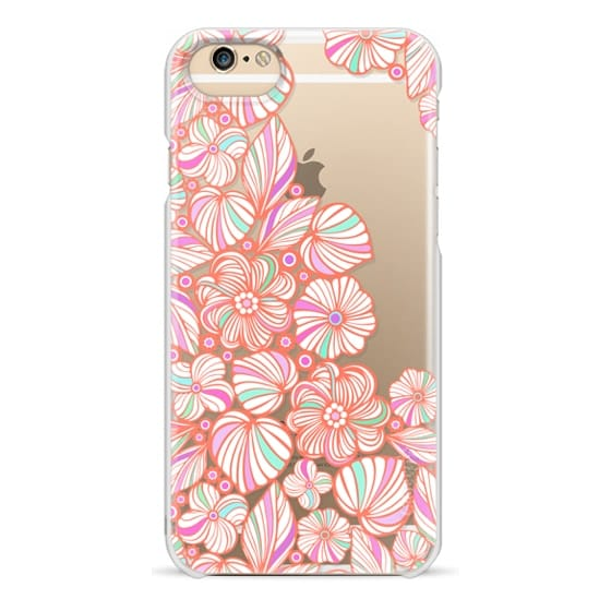 iPhone 6 Cases - sweet coral flowers