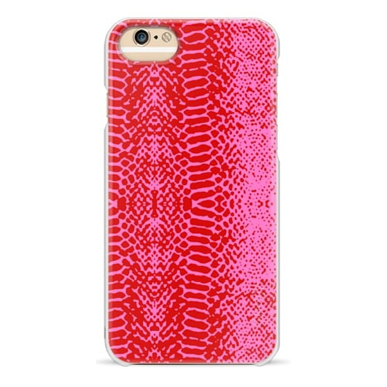 iPhone 6s Cases - Snake in pink
