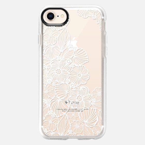 My white garden - Snap Case
