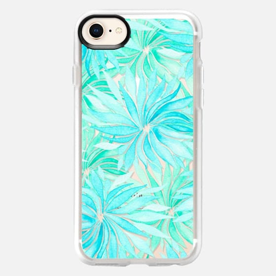 Turquoise spring time - Snap Case