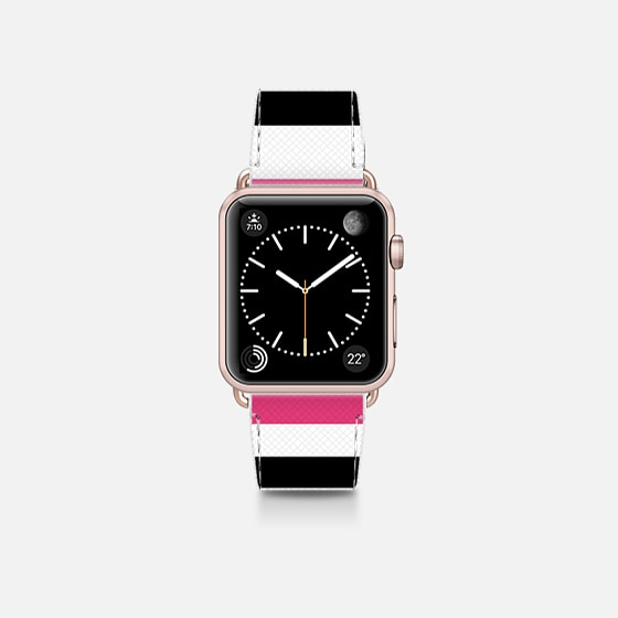 black pink white stripes 2