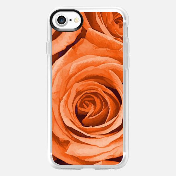 Orange Roses - Wallet Case