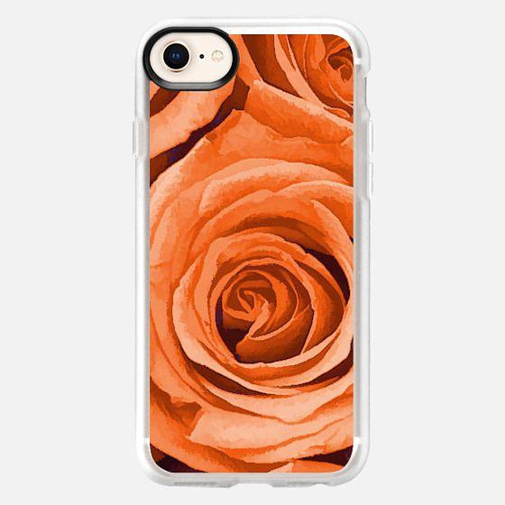 Orange Roses - Snap Case