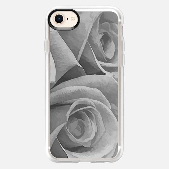 Gray Roses - Snap Case