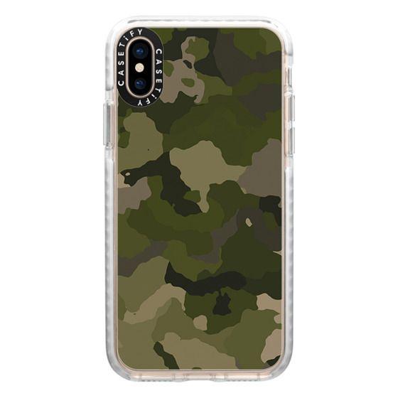 iPhone XS Cases - Huntress Camo