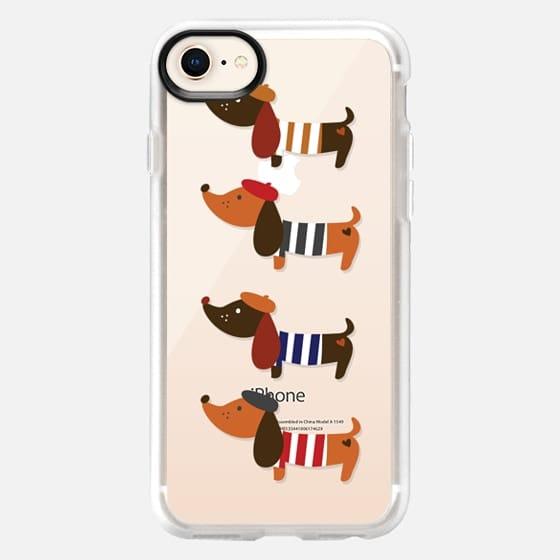 Sausage Dogs - Snap Case