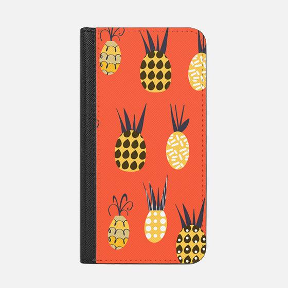 Pineapples pattern 3 - Wallet Case