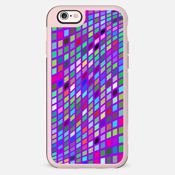 Mosaic geometry -colorful and trendy - New Standard Case