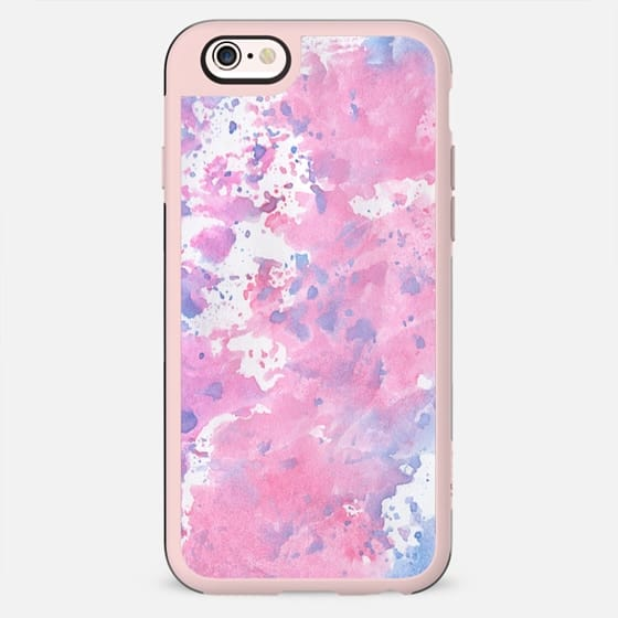 Pink and blue watercolour case - New Standard Case