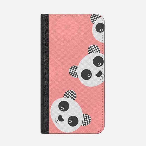 Panda design - Wallet Case with RFID