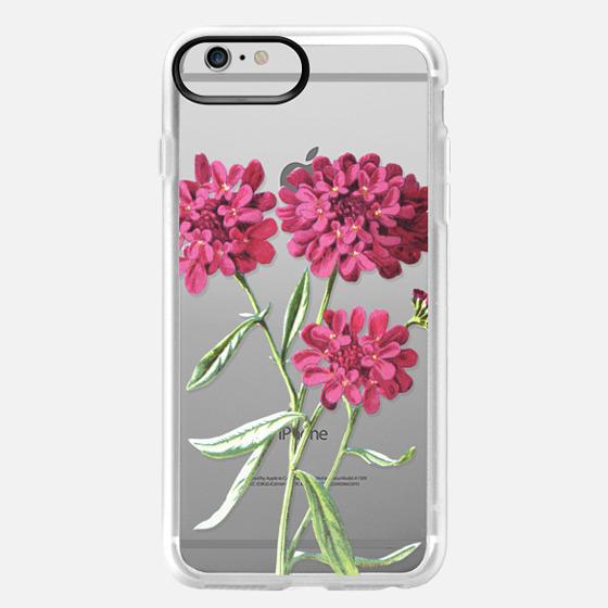 iPhone 6 Plus Capa - Magenta Floral