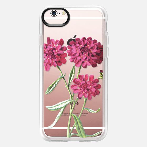 iPhone 6s 保护壳 - Magenta Floral
