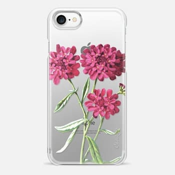 iPhone 7 Case Magenta Floral