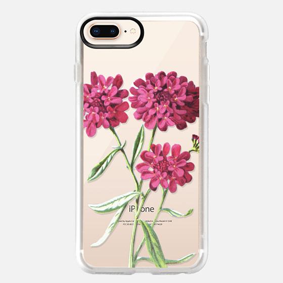 iPhone 8 Plus 保护壳 - Magenta Floral