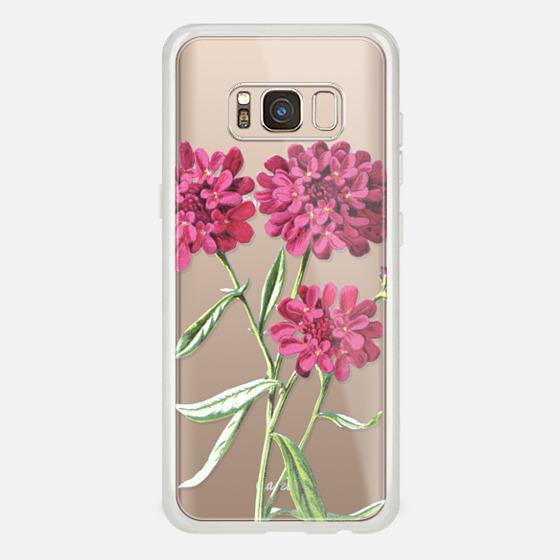 Galaxy S8 Case - Magenta Floral