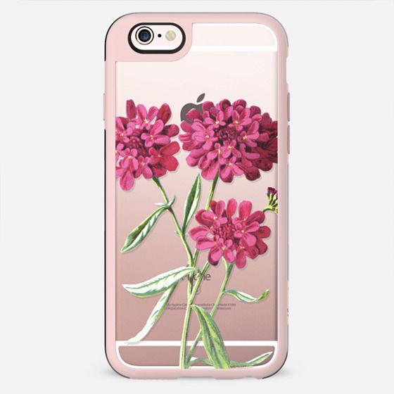 Magenta Floral - เคส Classic Grip