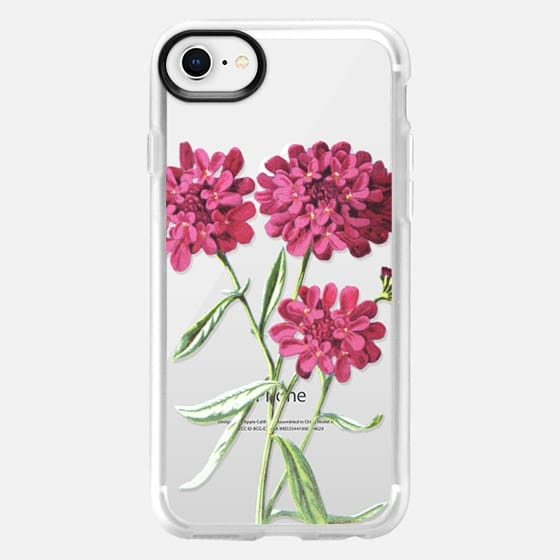 iPhone 8 保护壳 - Magenta Floral