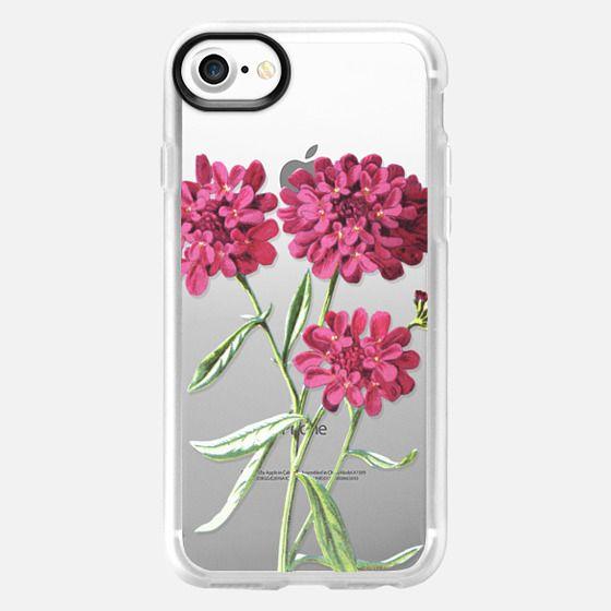 Magenta Floral - Snap Case