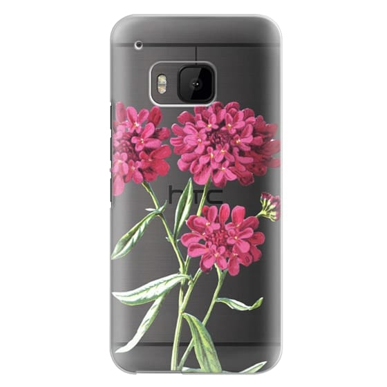 Htc One M9 Cases - Magenta Floral