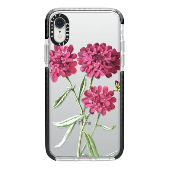 iPhone XR Cases - Magenta Floral