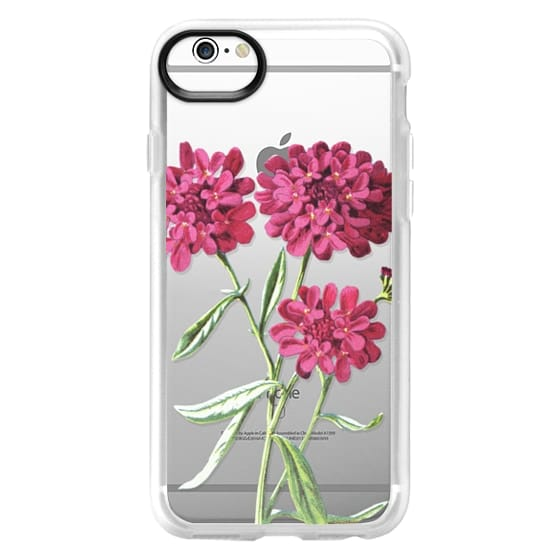 iPhone 6s Cases - Magenta Floral